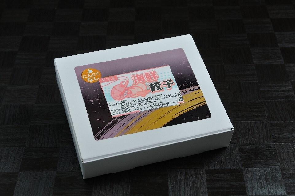 エビ好きさんにはたまらない♫菖蒲庵の海鮮餃子(20g×18ケ入)はプリプリ食感のエビがたっぷり‼︎