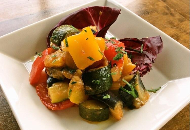 カポナータ(野菜のトマト煮込)