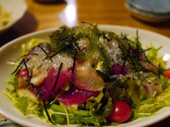 海鮮海人サラダ