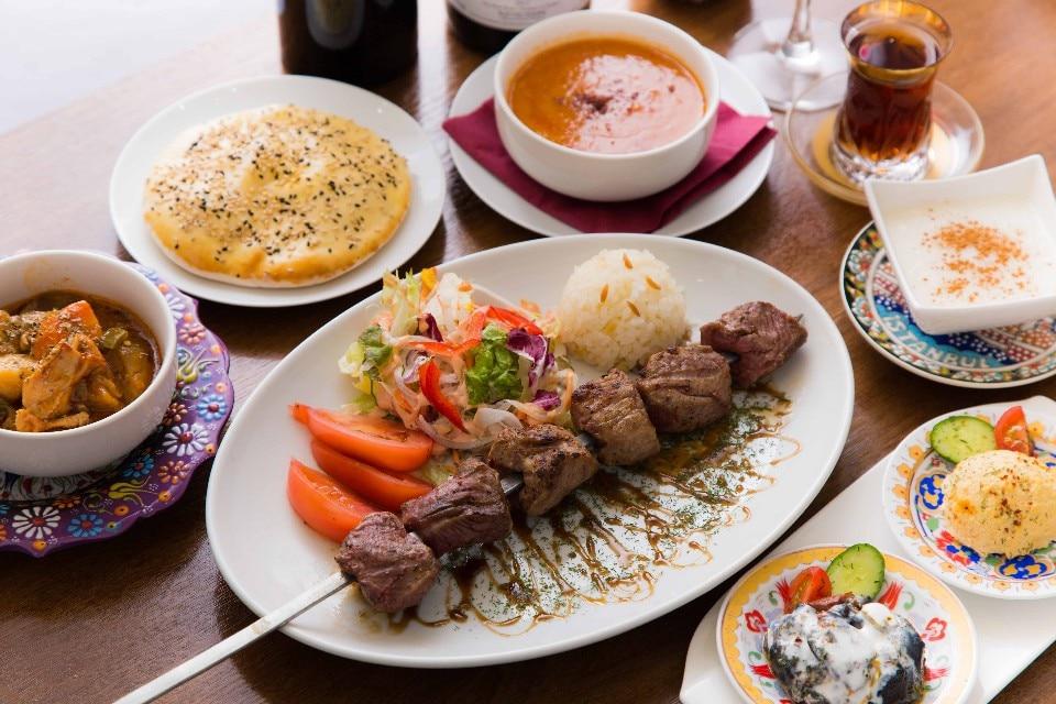 【日本人の口にあうトルコ料理勢ぞろい】<ジェイハンコース>
