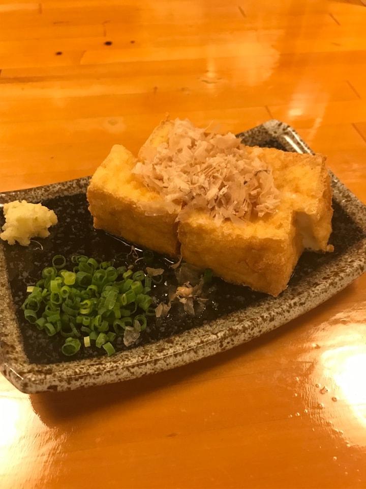 佐賀県産  温泉とうふの厚揚げ