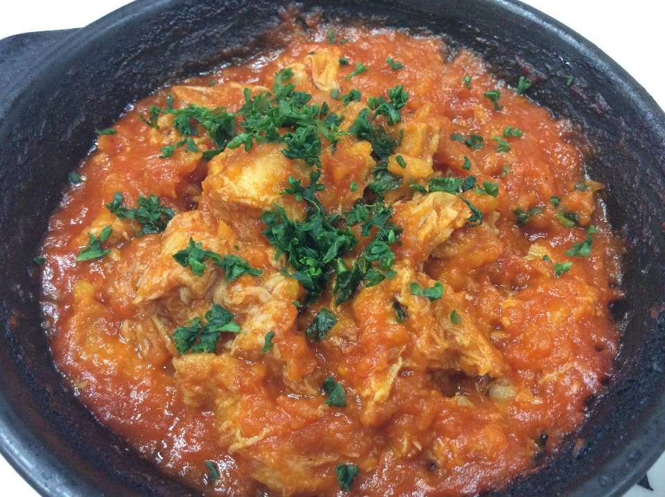 トリッパ(ハチノスのトマト煮)