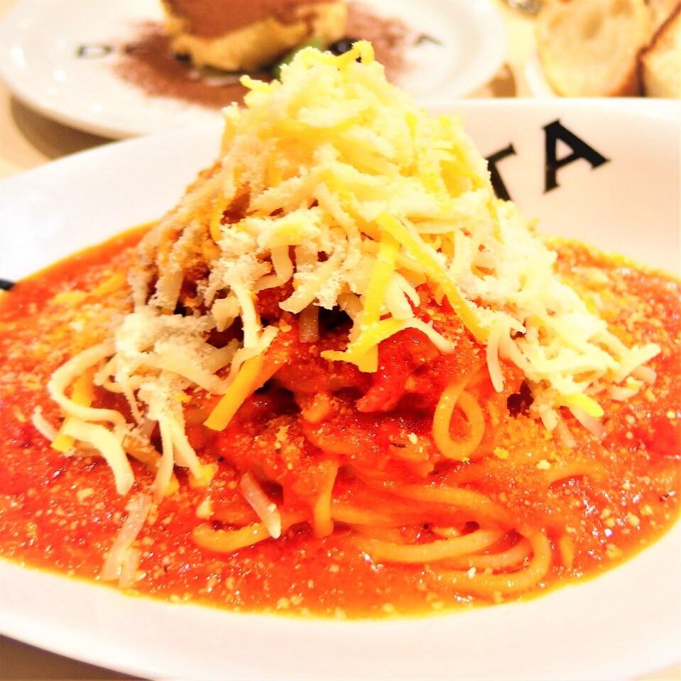 12月のおすすめ たっぷりチーズのトマトソースパスタ