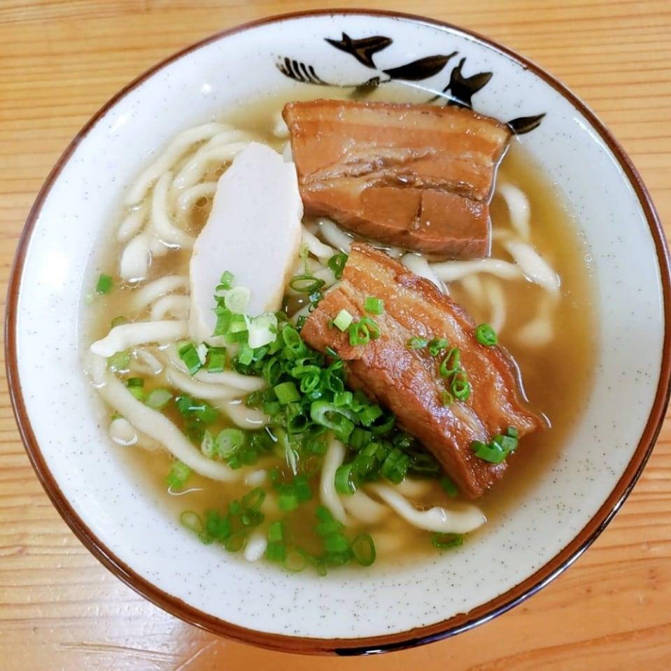 三枚肉そば(中)