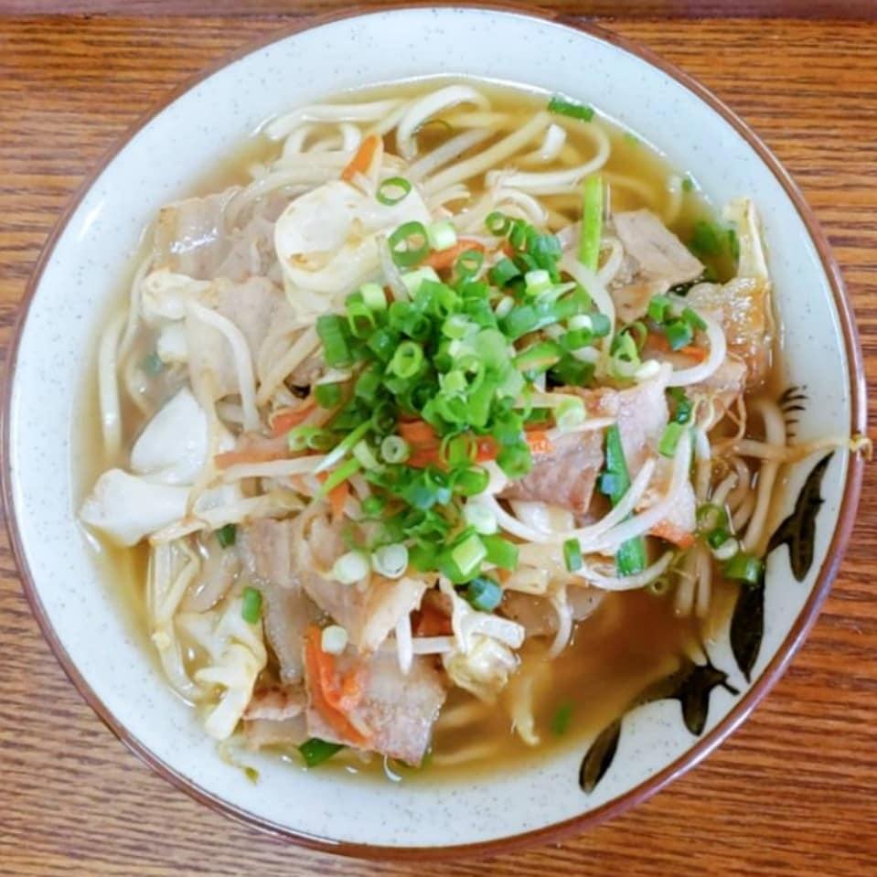 肉野菜そば(中)