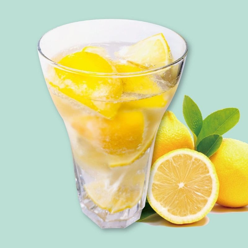カチコチレモンサワーのなかおかわり!