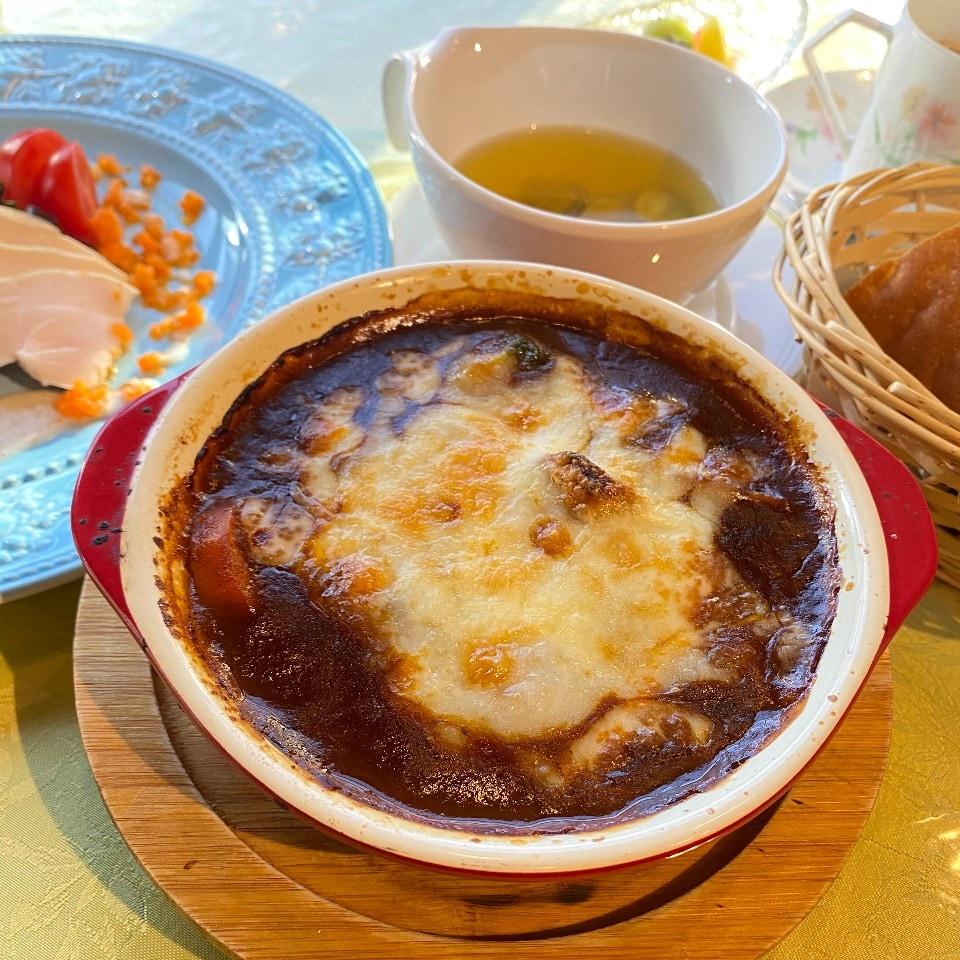 オリジナル焼きビーフシチューディナーセット