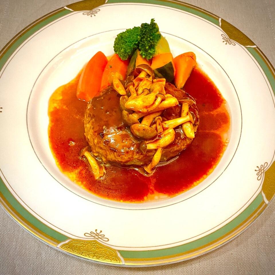 長崎和牛ハンバーグステーキ