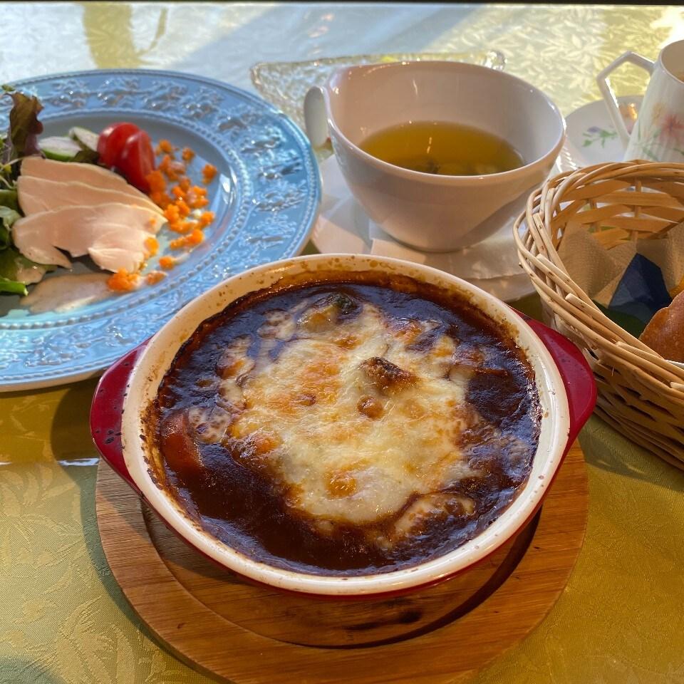 オリジナル焼きビーフシチューセット