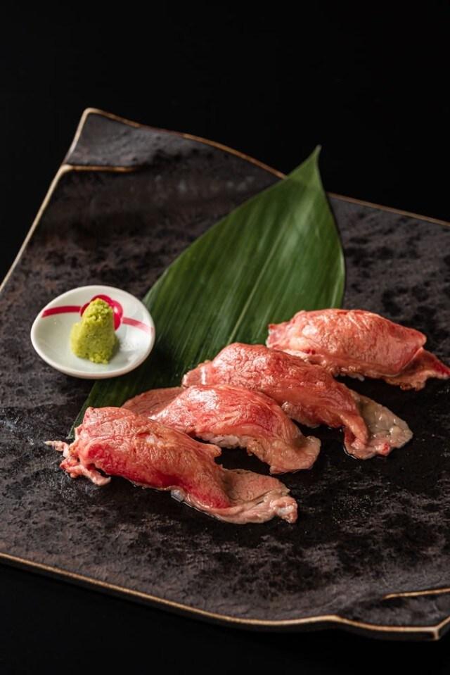 炙り肉寿司(一貫)