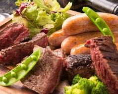 赤身肉たっぷり肉盛りプレート 2~3人前