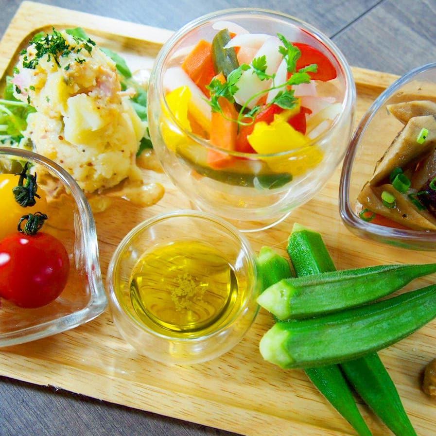 おかませ!いろいろ野菜の盛り合わせ(5種盛)