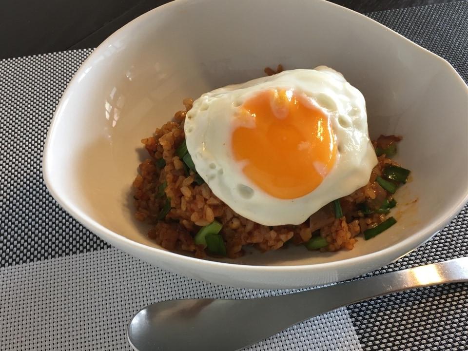 自家製キムチチャーハン(前菜、ドリンク付き)