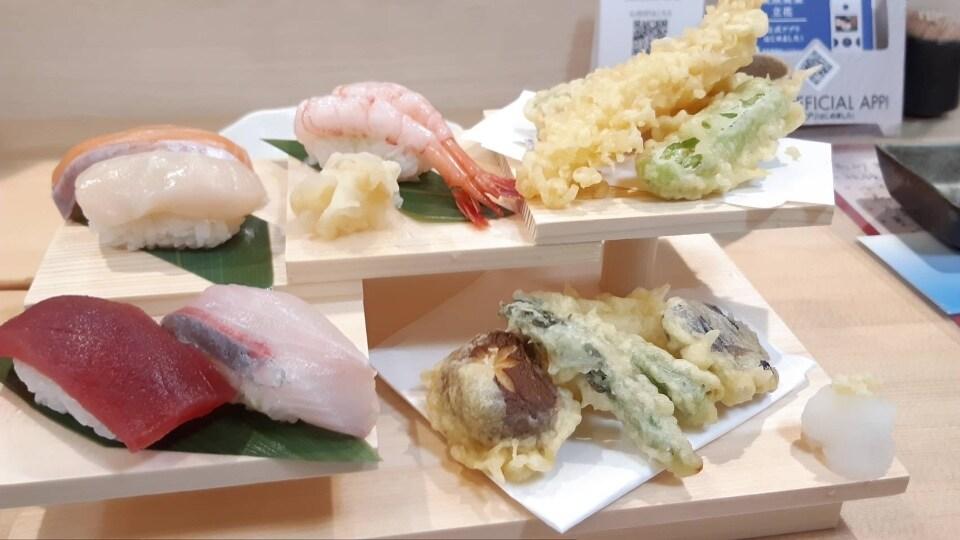 寿司・天ぷらセット