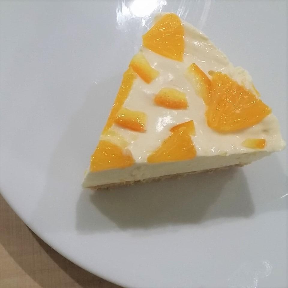 オレンジフレーバー チーズケーキ