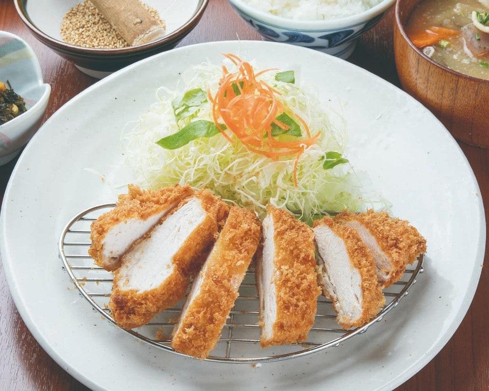 桜姫鶏チキンかつ膳