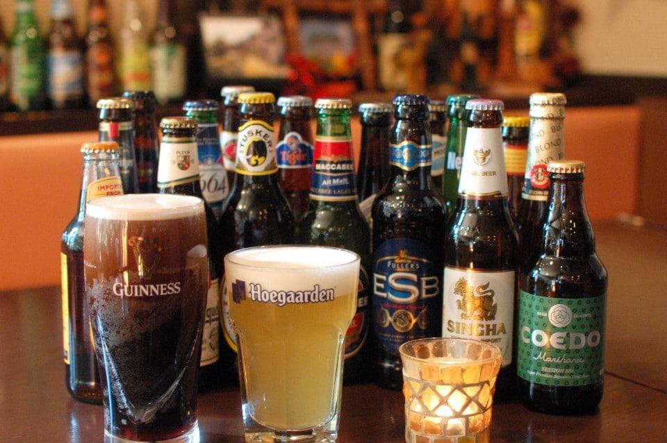 世界のビールも飲み放題◆ゆったり3時間¥6000(税込)世界一周コース◆大満足間違いなし!