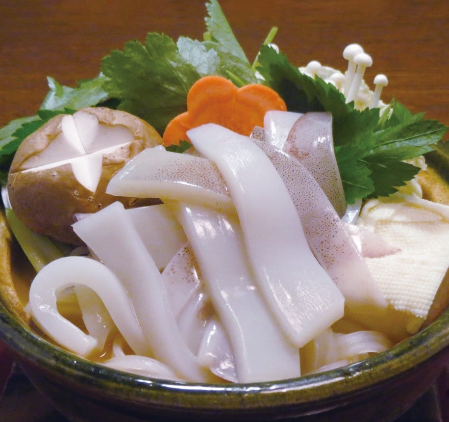 いかわた鍋(炊き込み)