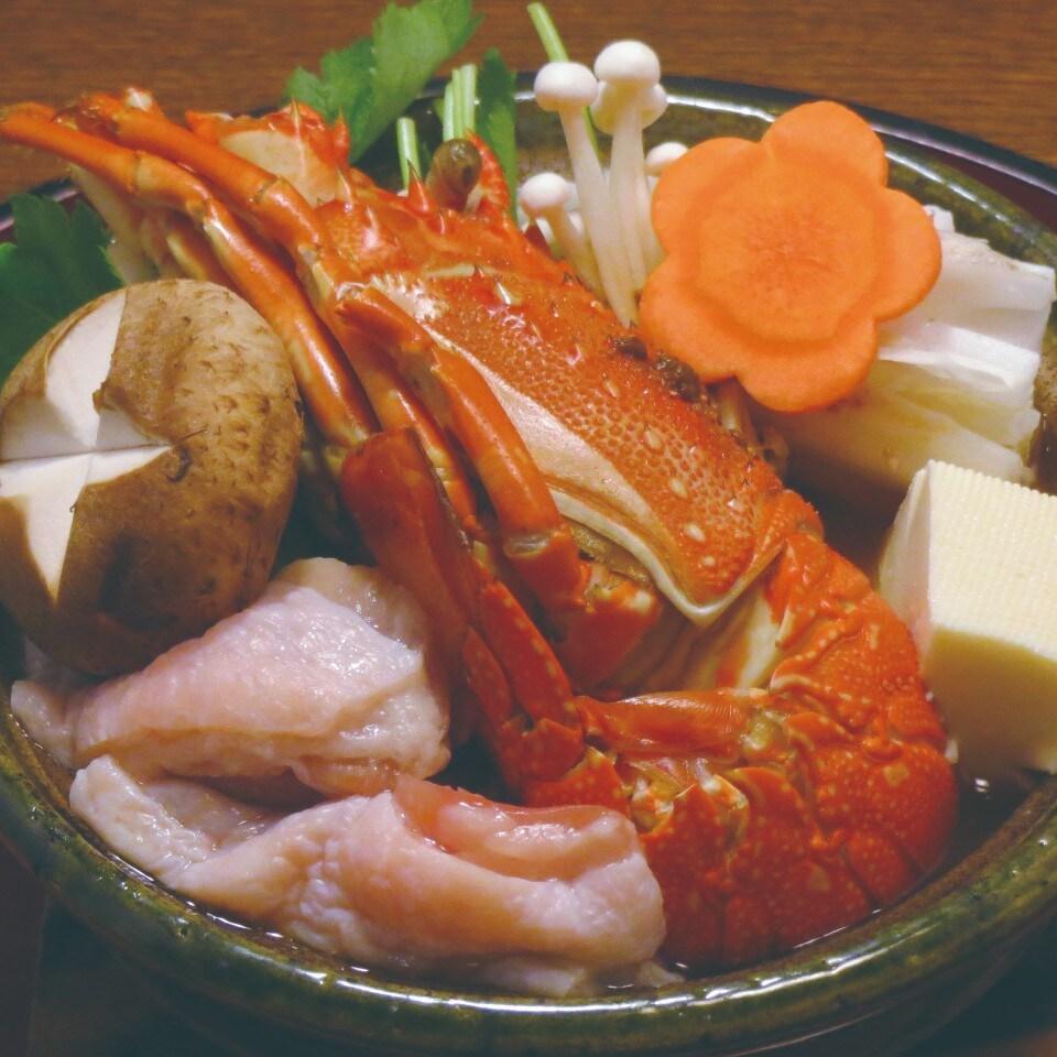 伊勢えび鍋(炊き込み)