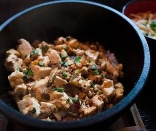 鉄鍋島麻婆豆腐
