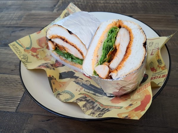 CHICKEN SANDWICH-チキンサンドイッチ