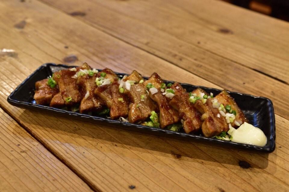 豚三枚肉の自家製生姜焼き