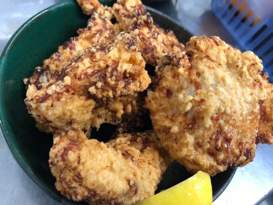 鶏の塩からあげ(3個)