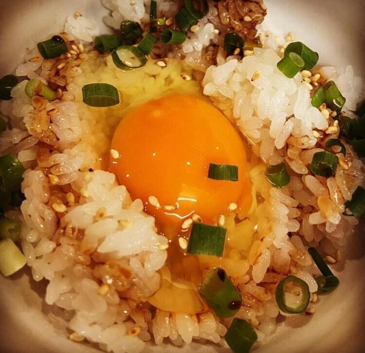 タレかけ卵ご飯