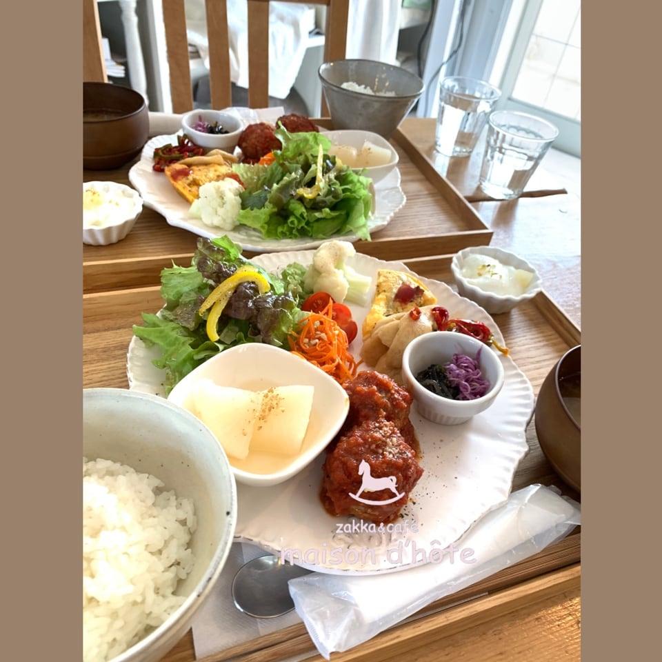 平日限定 お野菜たっぷりランチプレート