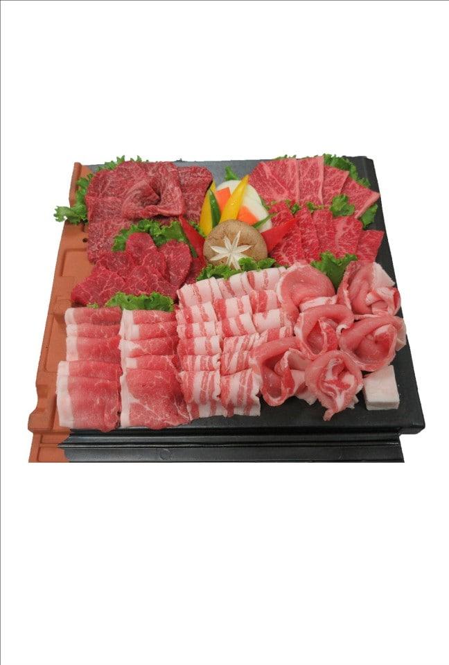 【特上】焼肉盛り合わせ(3〜4人前)600g