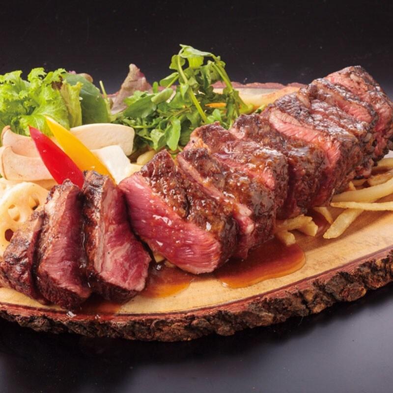 1ポンドステーキ(約450g)