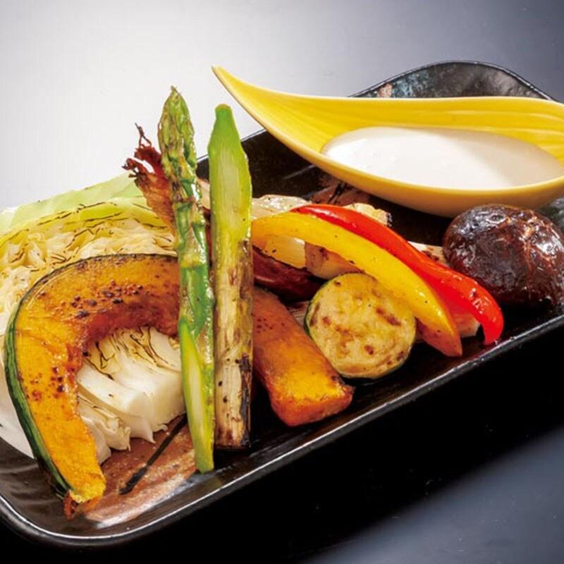 野菜のグリルバーニャカウダ