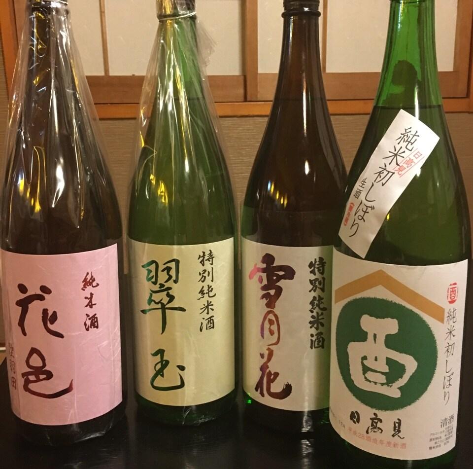 お楽しみ 日本各地の銘酒  純米酒  1合より