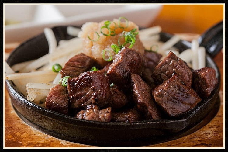 国産牛 イチボのステーキ
