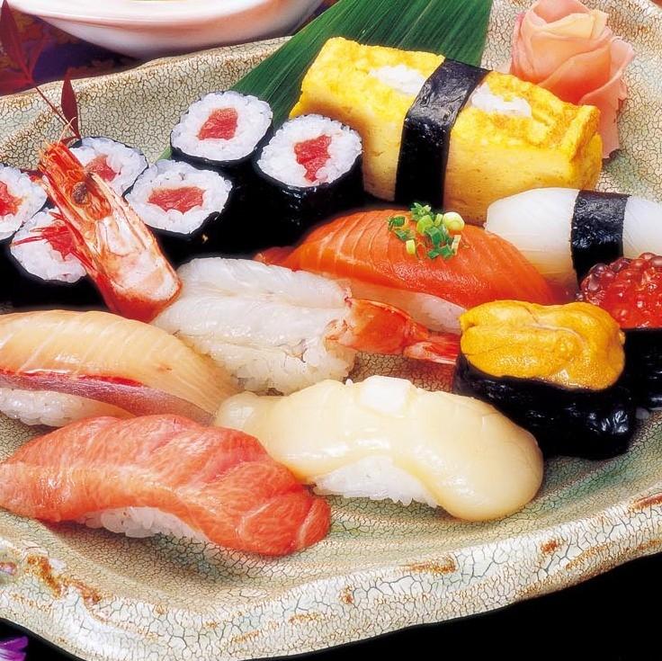 上にぎり寿司(お吸物付)
