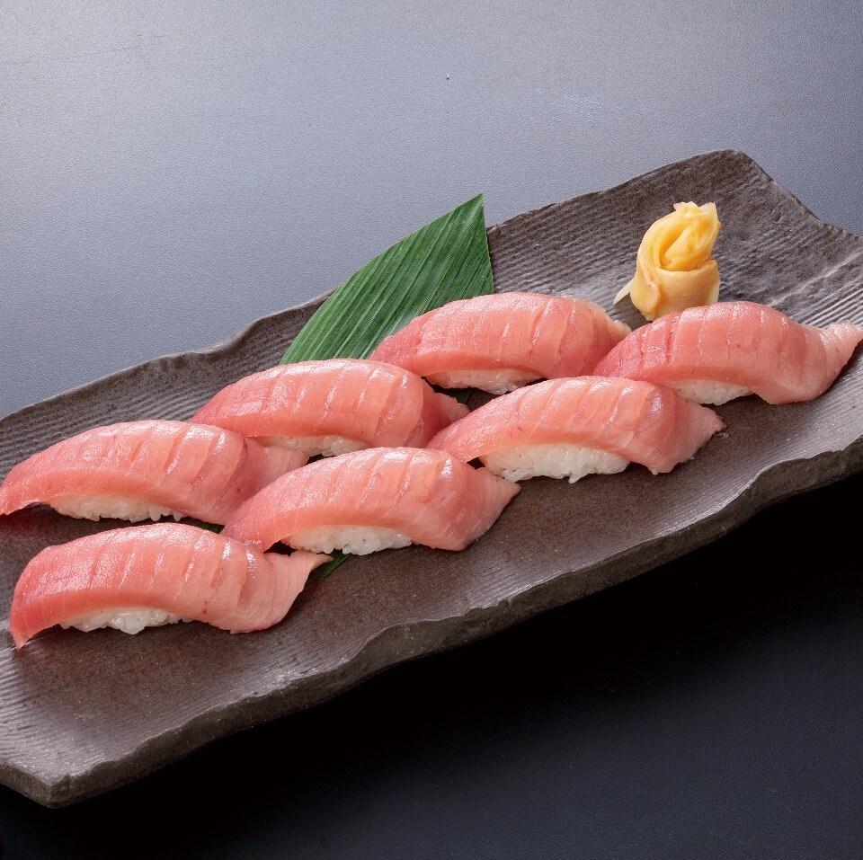 中とろ寿司7カン(お吸物付)