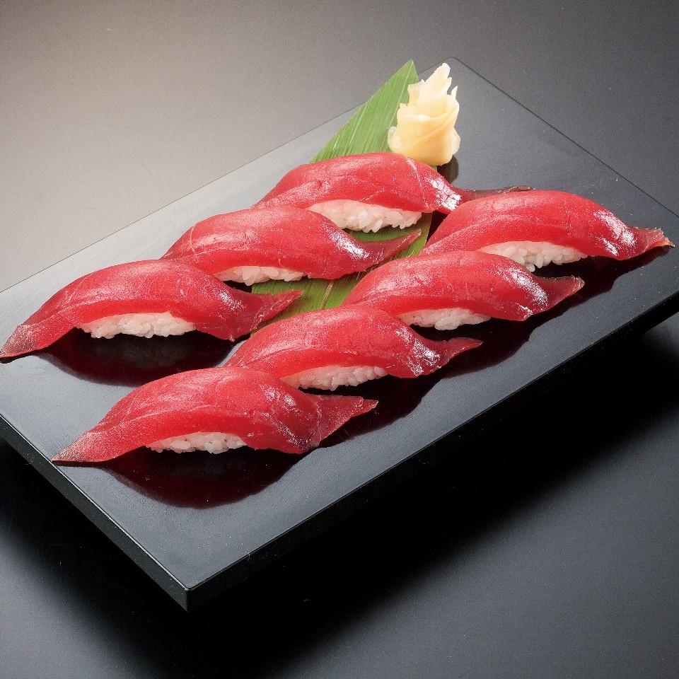 まぐろ寿司7カン(お吸物付)