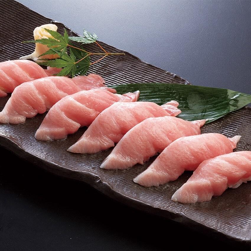 大トロ寿司7カン(お吸物付)
