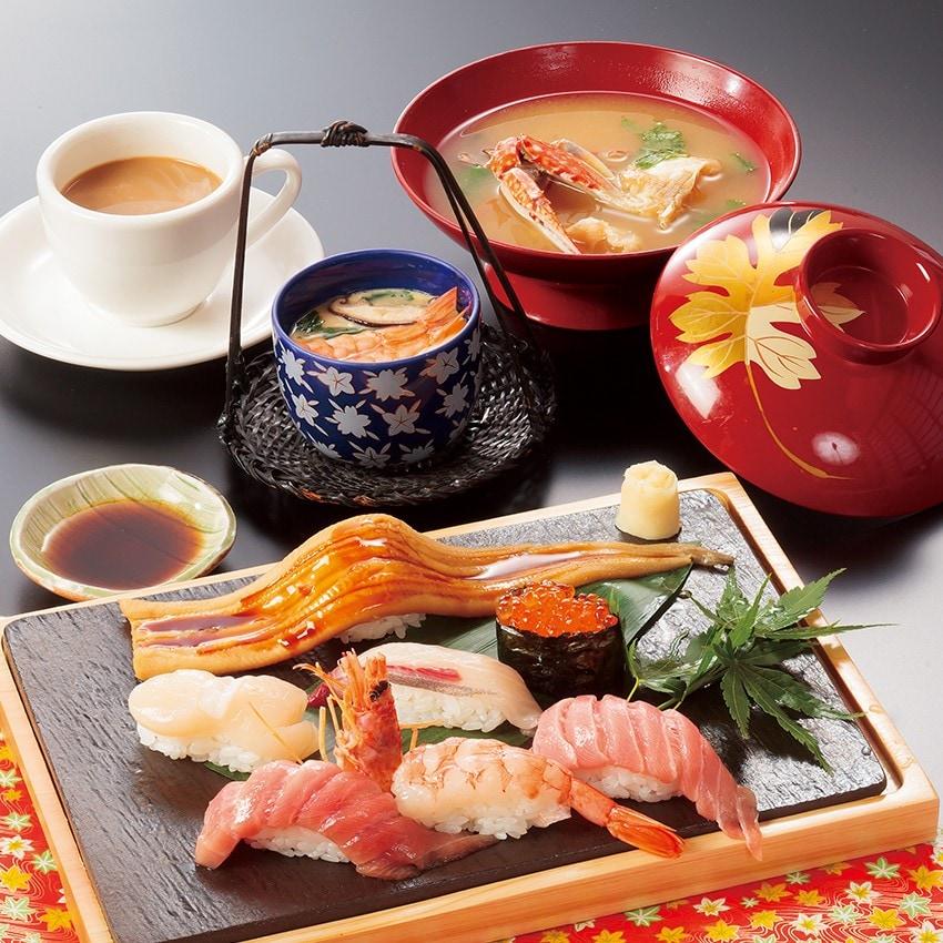 特上寿司定食