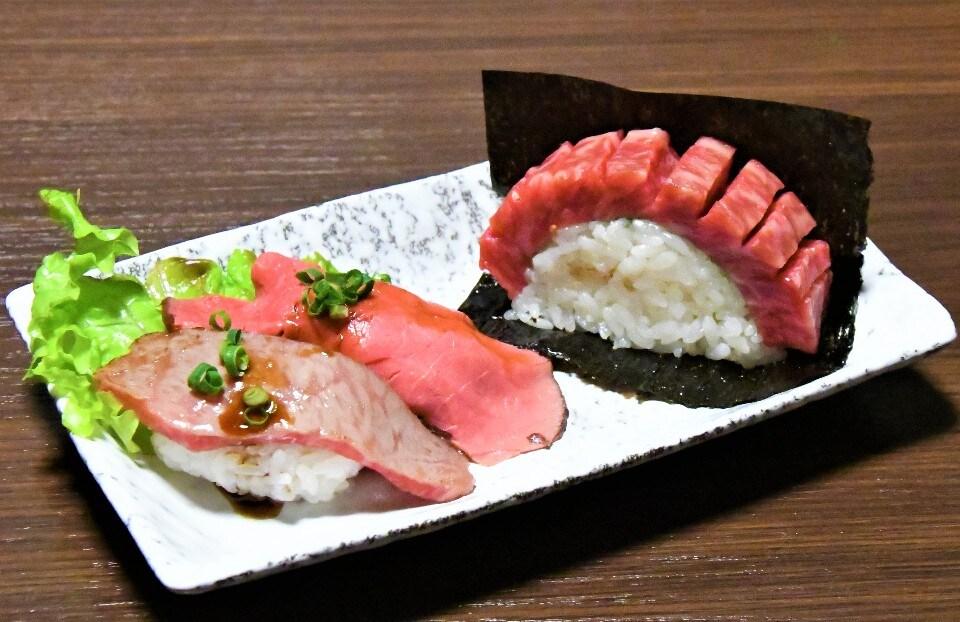 プレミアム肉寿司