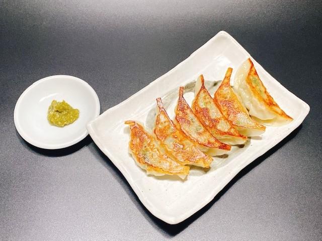まんまる餃子6個(福岡県産柚子胡椒付き)