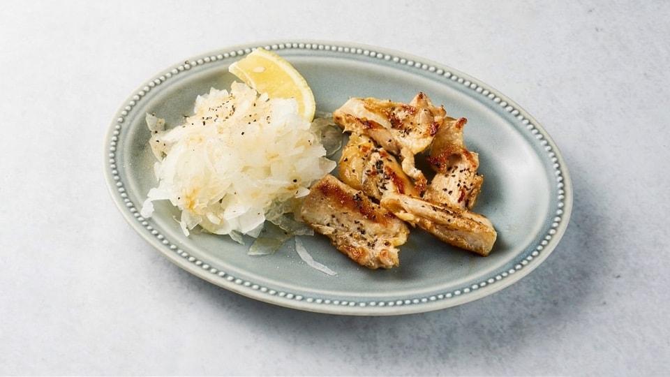 ヤゲン軟骨の塩胡椒焼き