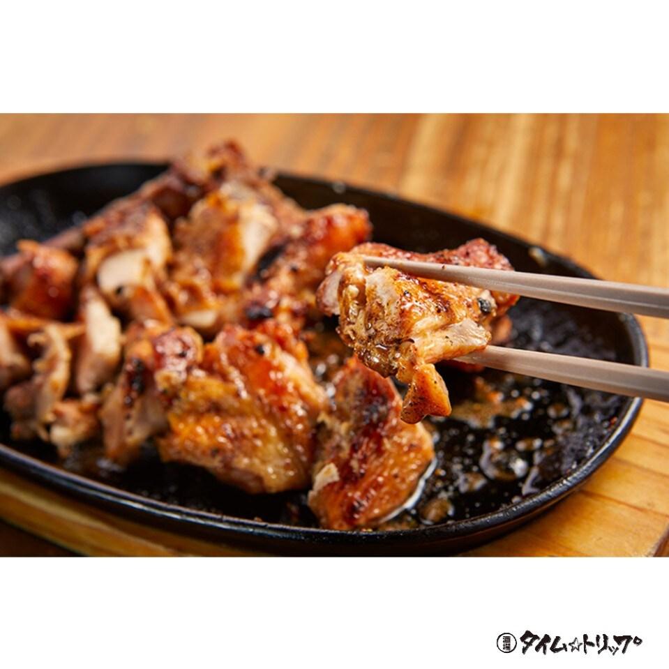 【名物!】親鶏一本焼(岡山県産)