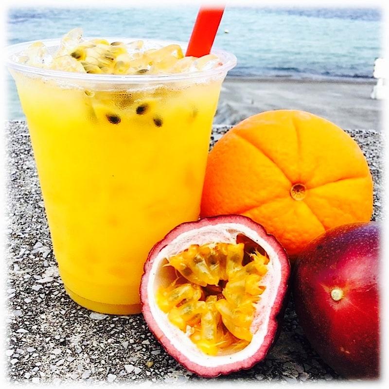 生パッションフルーツ&オレンジ