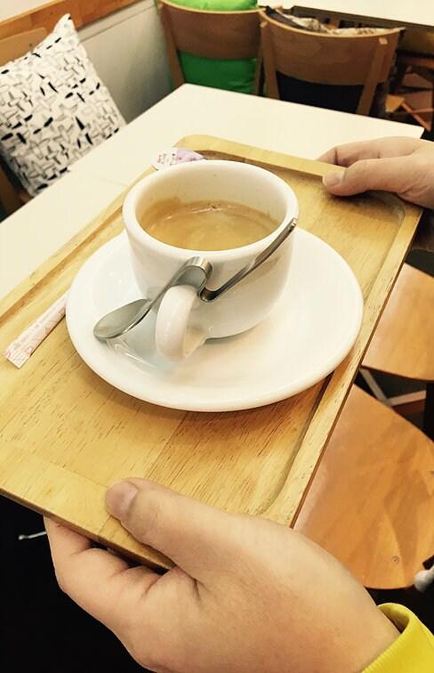 パーチェのコーヒー