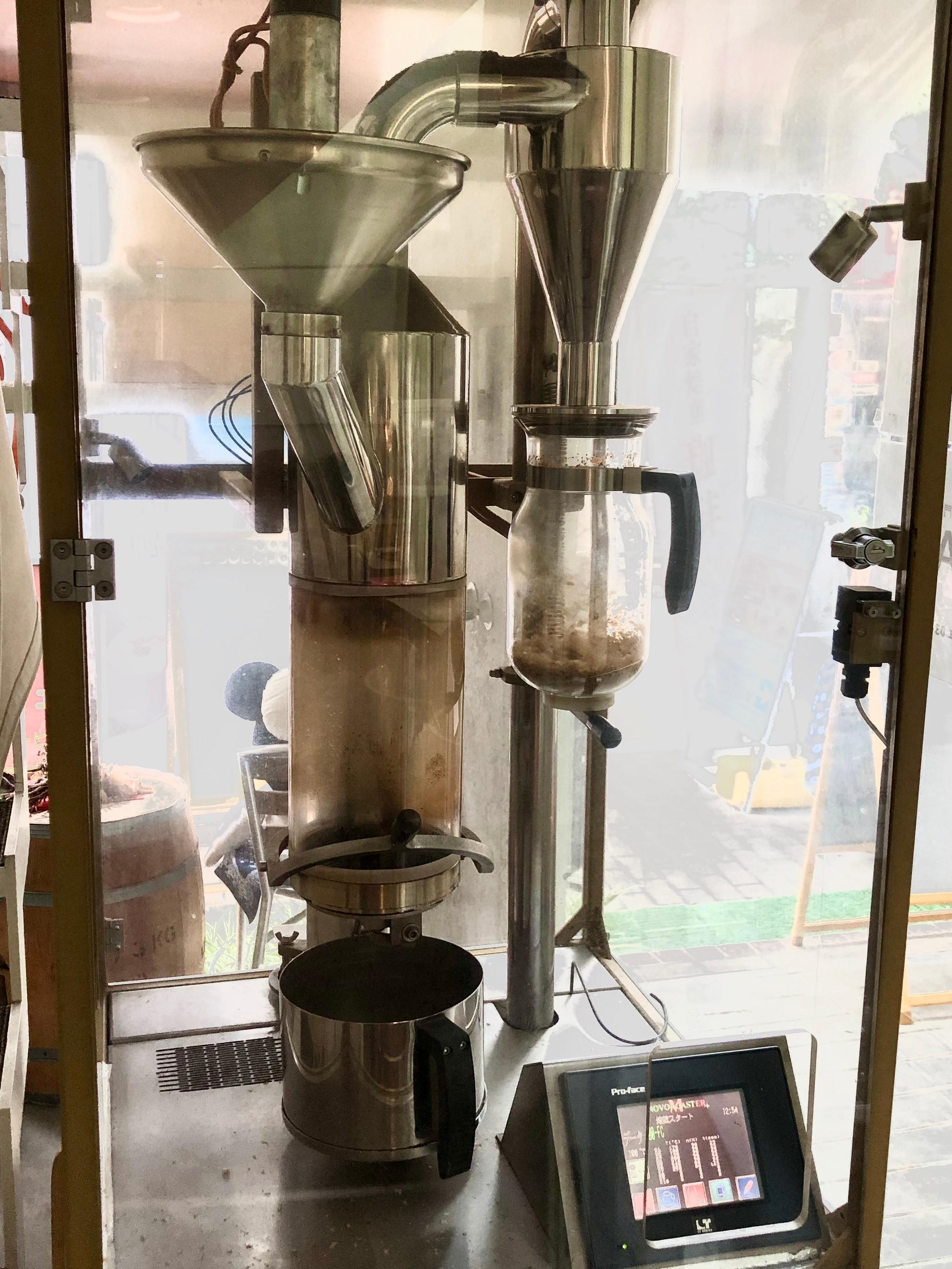 ドイツ製の焙煎機