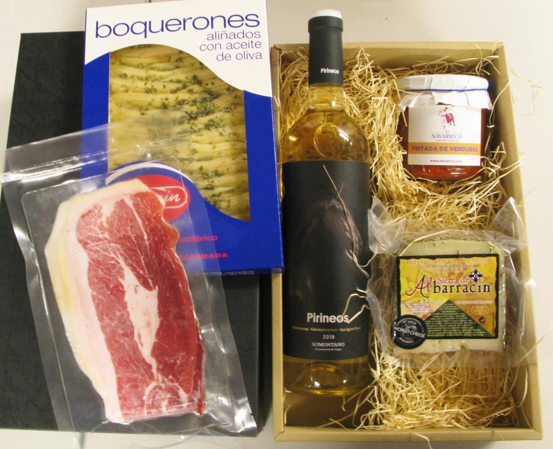 夏のスペインワイン・食材セット ¥6500