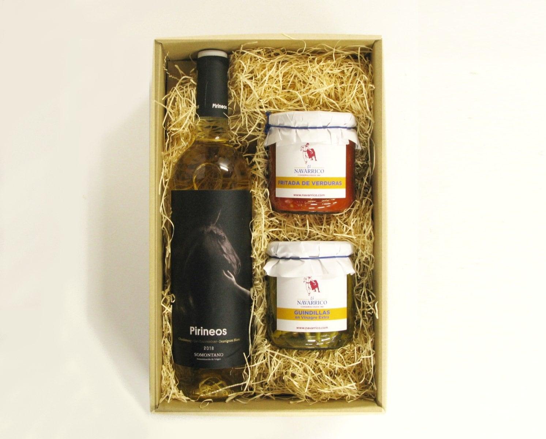 【クール便】選べる《赤or白》スペインワイン(D.O.ソモンターノ)とスペイン産夏野菜の瓶詰セット