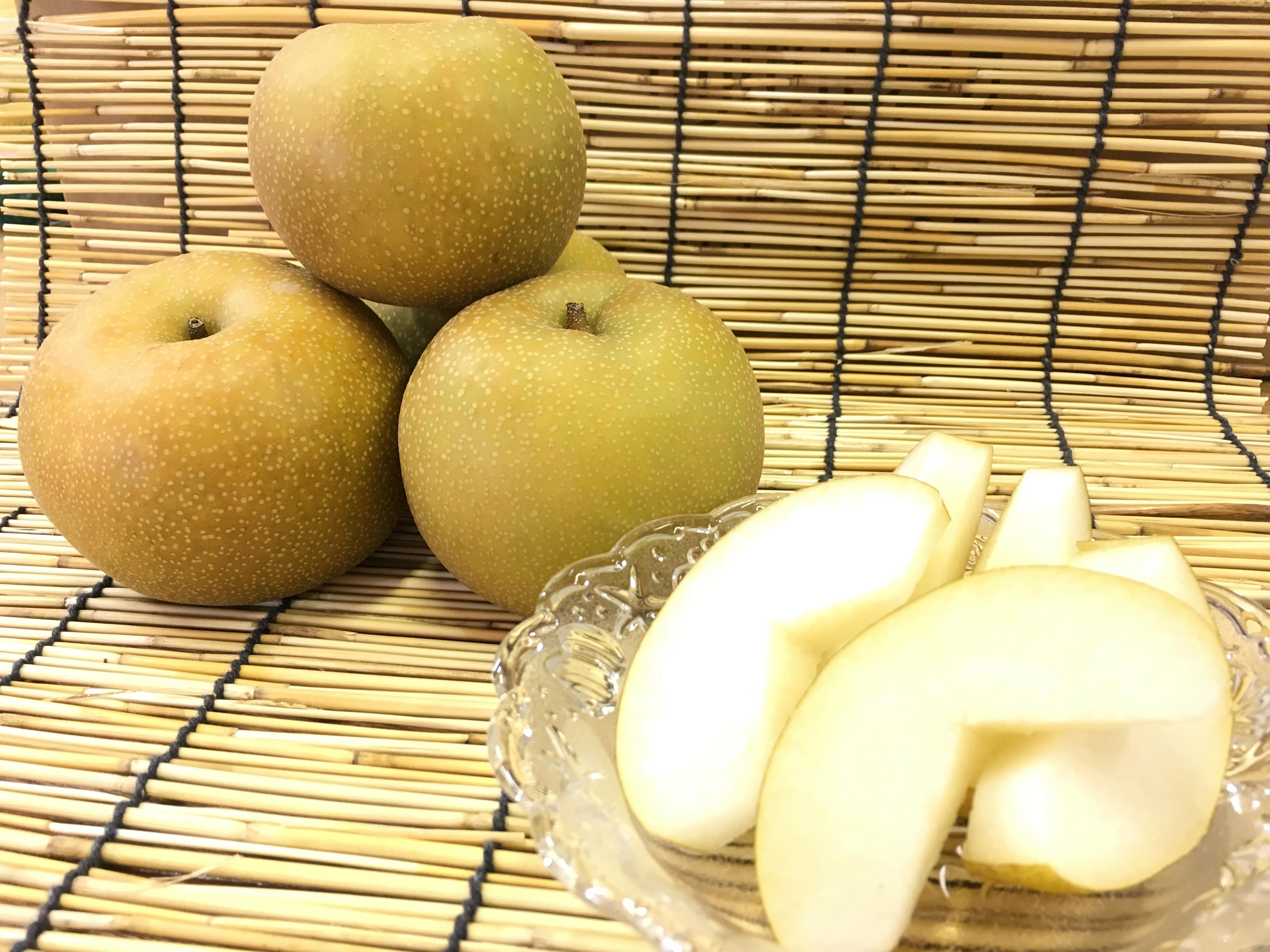 梨のカット