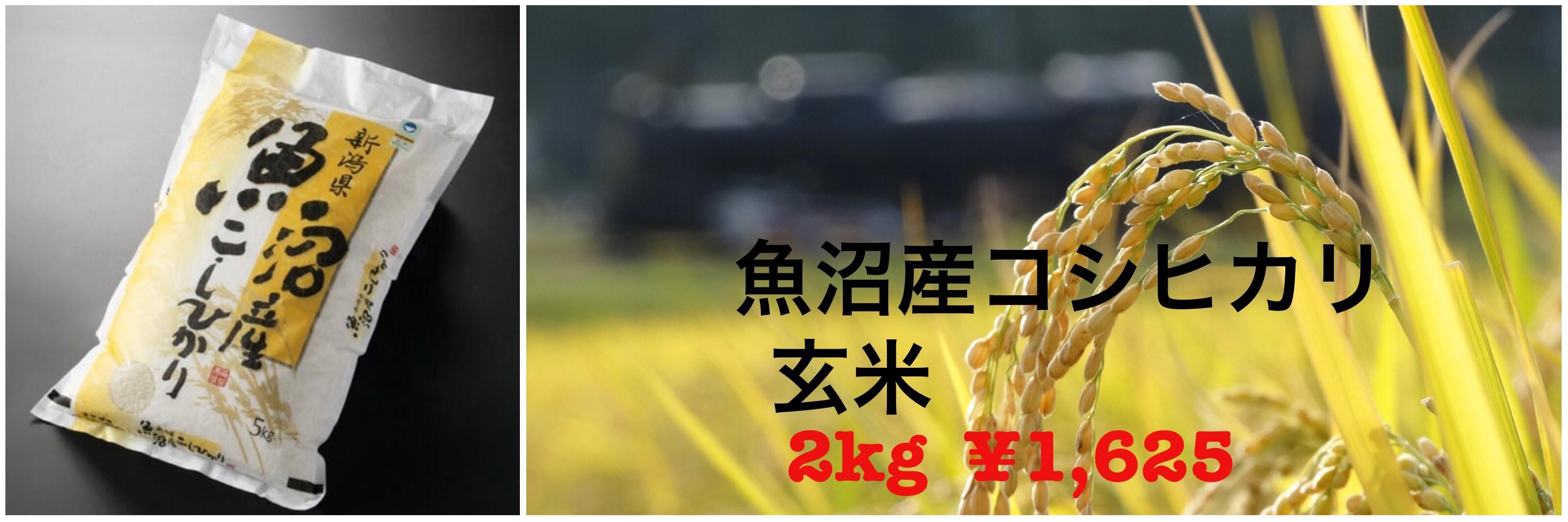 玄米2キロ